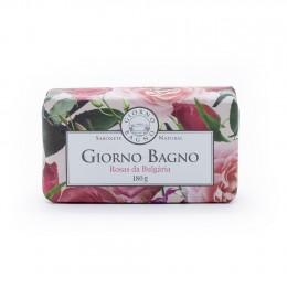 Sabonete em barra Giorno Bagno - Rosas da Bulgária .